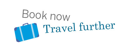Book now travel further